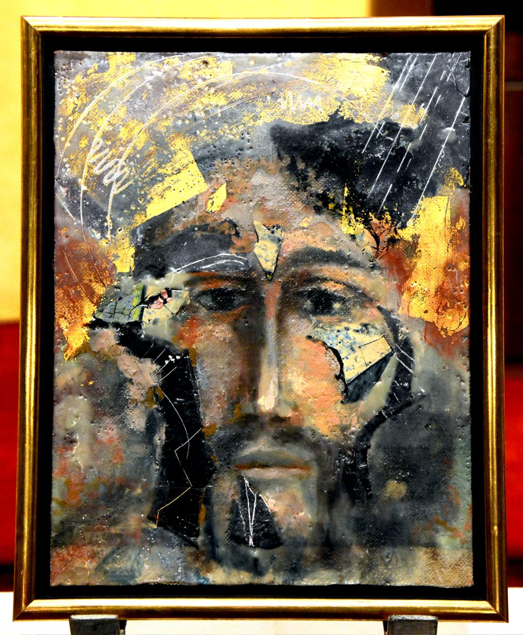Hawley Painting Face of Christ